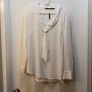 Kensie white blouse